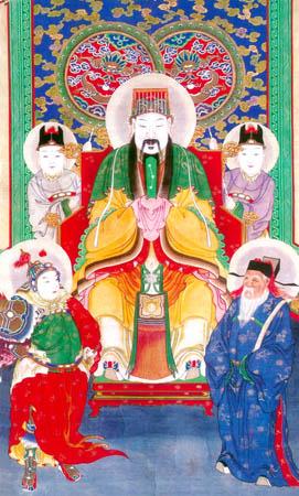 cinco imperadores tao